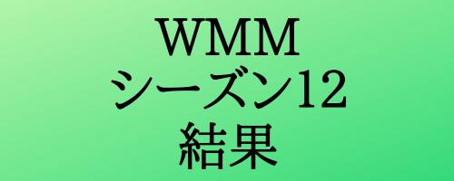 WMM(ワールドマラソンメジャーズ)シリーズ12の結果まとめ